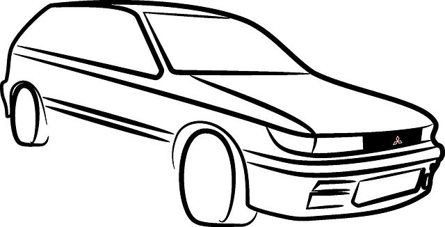 Free Vector Graphic Car Colt Mitsubishi Silhouette