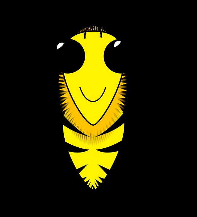 Lebah Madu Sisir Gambar Vektor Gratis Di Pixabay