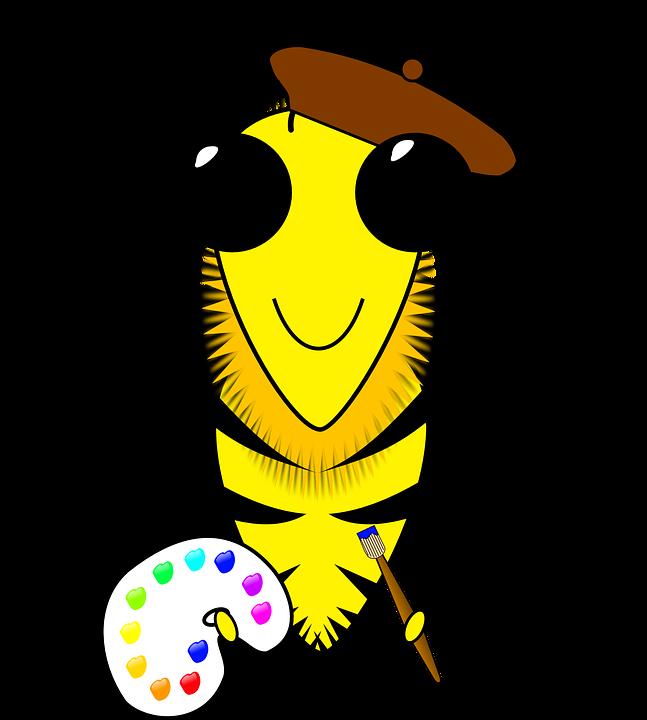 Arı Sanat çalışkan Pixabayda ücretsiz Vektör Grafik