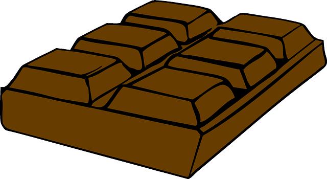Kostenlose Vektorgrafik Bar Schokolade Brown S 252 223