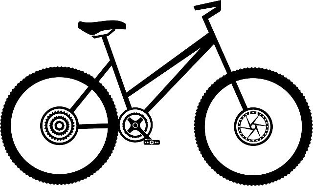 Female bike bike bicycle free vector graphic on pixabay - Dessin velo facile ...