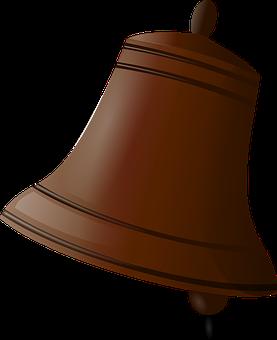 Bell, Ring, Kiming, Brown, Kirkeklokke