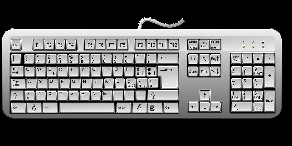 image vectorielle gratuite clavier touches ordinateur image gratuite sur pixabay 162134. Black Bedroom Furniture Sets. Home Design Ideas