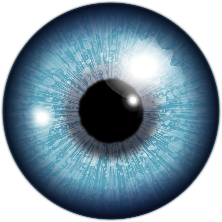 Eye, Blue, Iris, Eyeball, Looking, Blue Eye