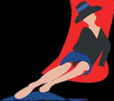 Frau im liegestuhl clipart  Liegestühle Bilder · Pixabay · Kostenlose Bilder herunterladen