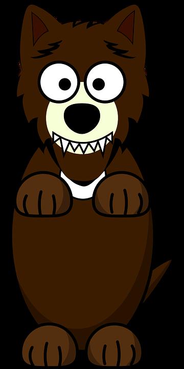 Wolf, Des Animaux, Dessin Animé, Loup, Lobo, Funny