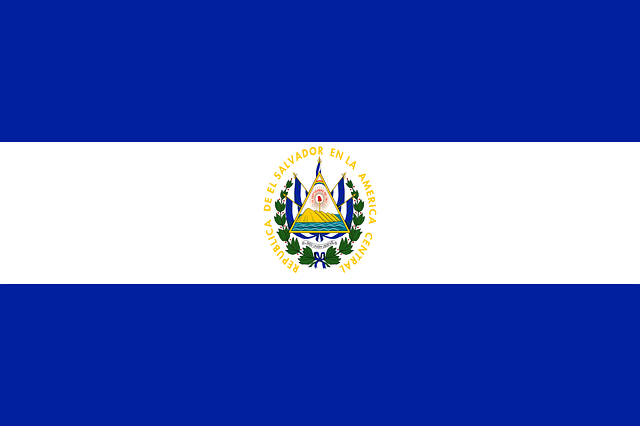el salvador flag national  u00b7 free vector graphic on pixabay