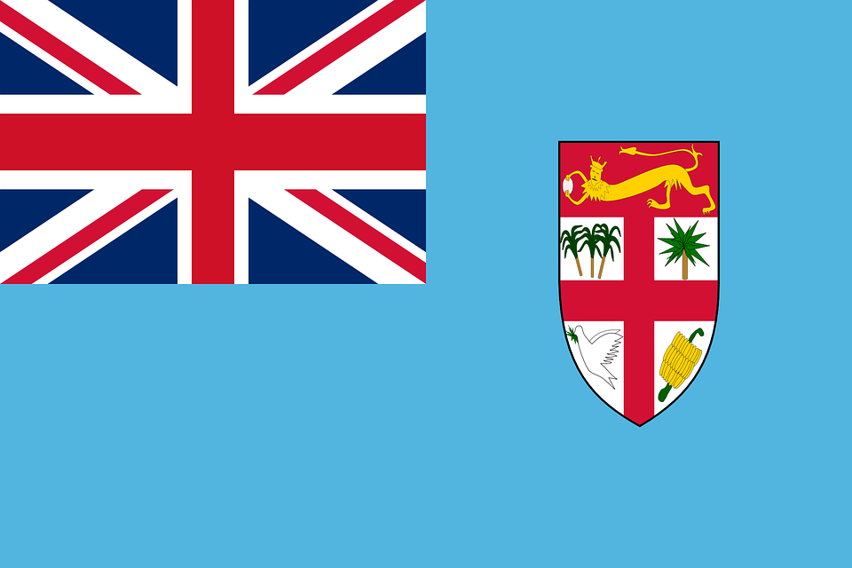 Fiji, Flag, National Flag, Nation, Country, Ensign