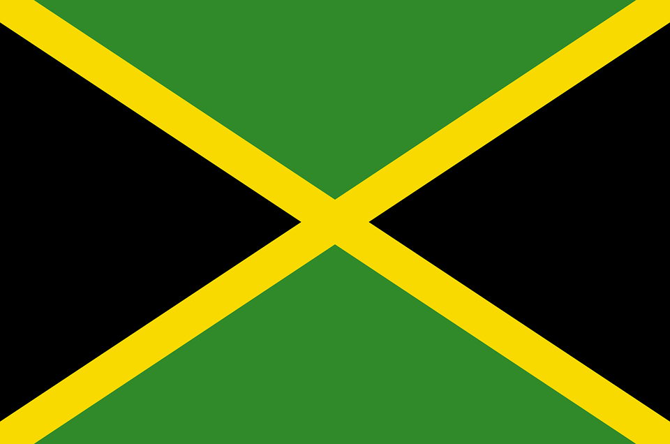 Jamaica, Flag, National Flag, Nation, Country, Ensign