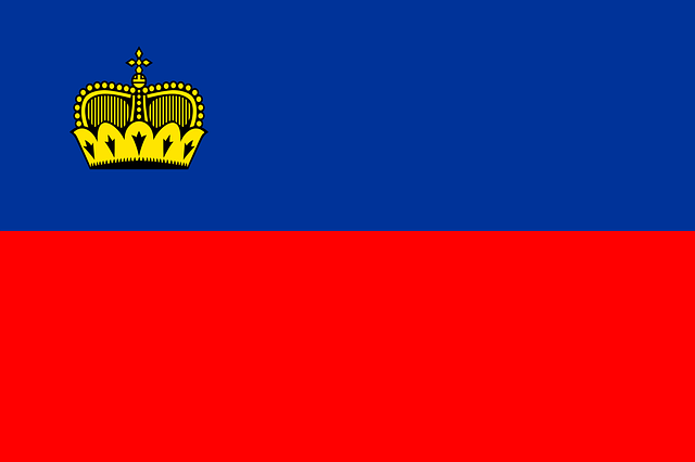 Liechtenstein Flag Nat...