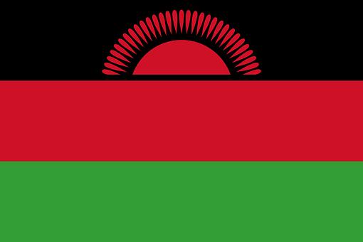 Malawi Flag National Flag Nation Country E