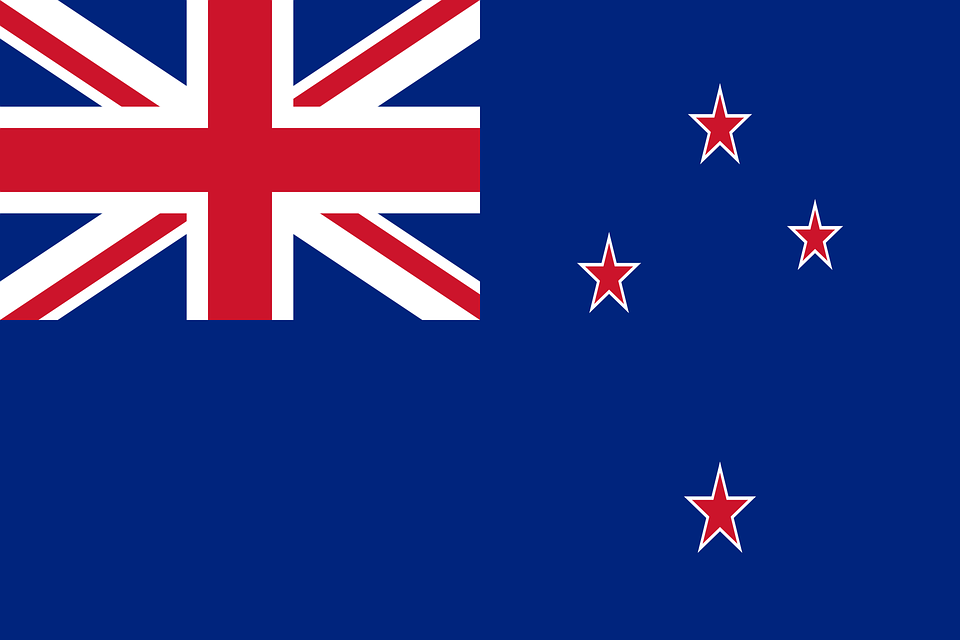 New Zealand, Flag, National Flag, Nation, Country