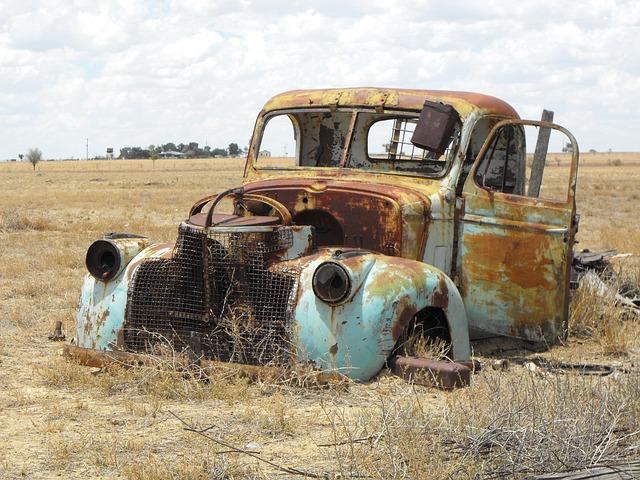 Australia Old Utility Car · Free Photo On Pixabay
