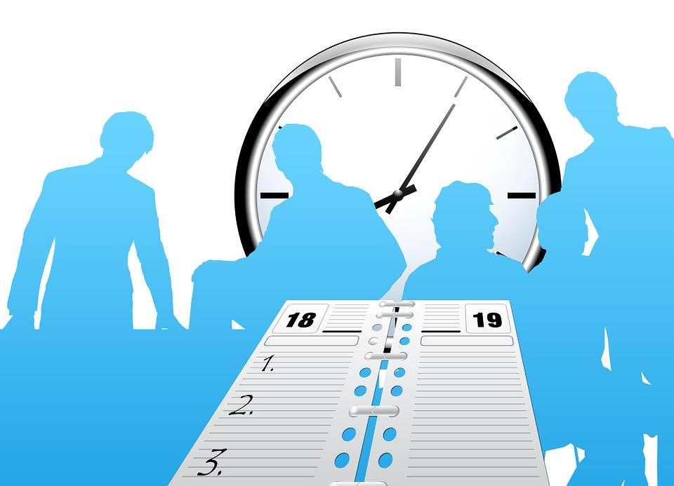 Clock Time Calendar Free Image On Pixabay