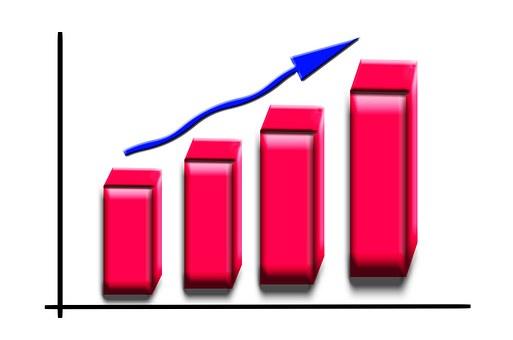ビジネス, グラフ, 統計, 成長, 減少, 収益, クラッシュ, 方向, 良い