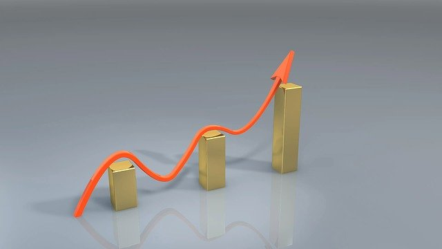 ビジネス, 成功, 受賞, グラフ, 矢印, 成長, ファイナンス, グラフします, お金, 市場