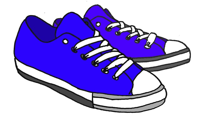 cartoon drawn blue free image on pixabay rh pixabay com Cartoon Tennis Shoes Running Cartoon Tennis Shoes Running