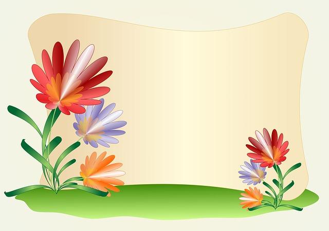 design background flowers free image on pixabay