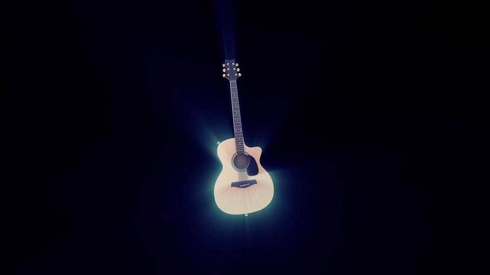 Gitar Müzik Arka Plan Pixabayde ücretsiz Resim