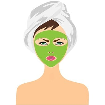 Beauty Treatment, Face Mask, Girl, Woman