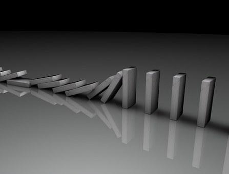 Domino, Schaltung, Element, Ursachen