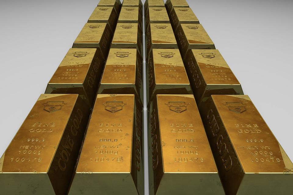 無料の写真: ゴールド地金, 銀行...
