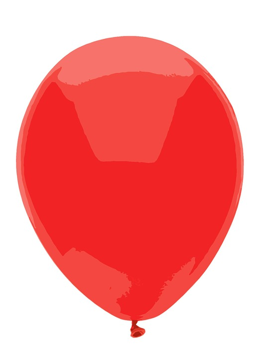 red balloon clip free image on pixabay