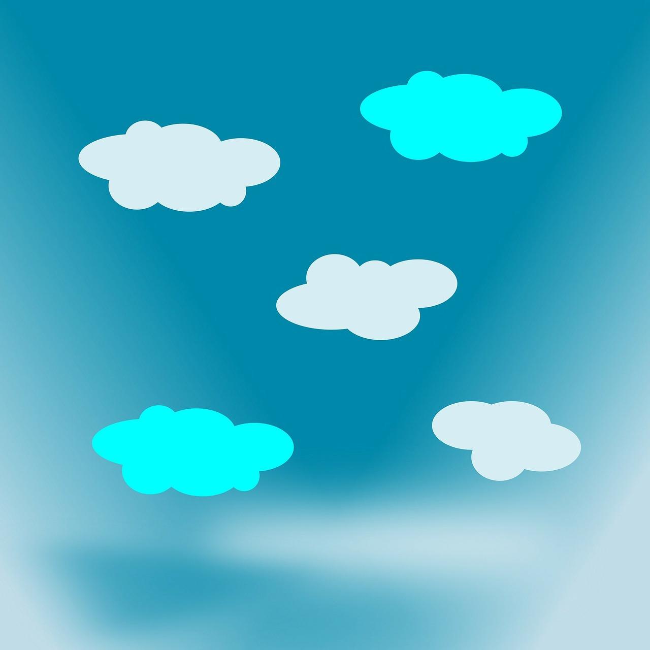 рисунки неба по картинками работы