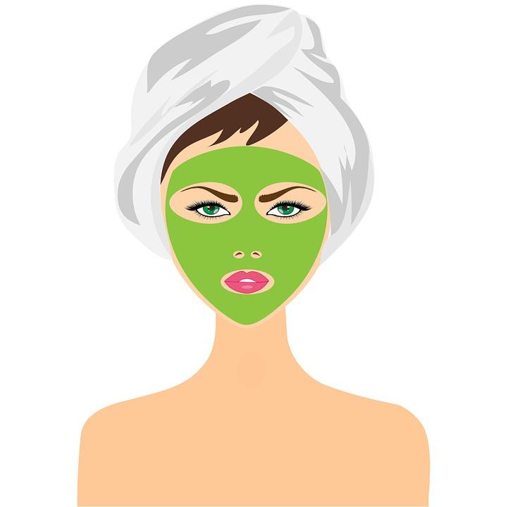 Kobieta, Piękno, Maska, Maseczka Do Twarzy