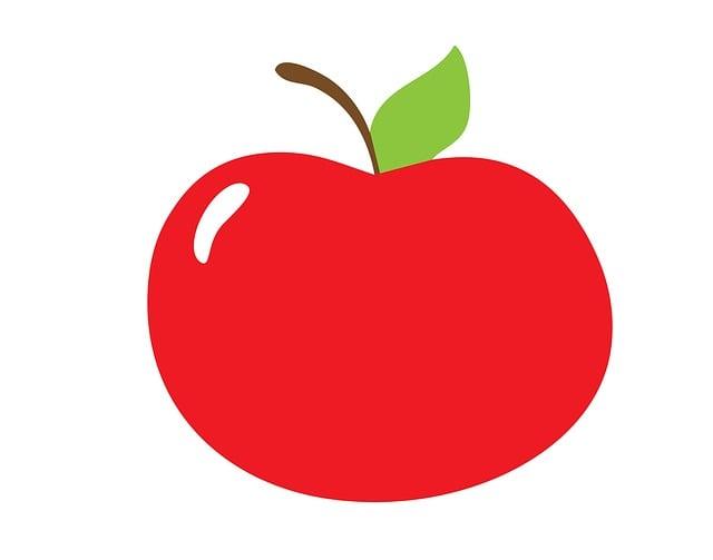 apple fruit clipart clip illustration fresh