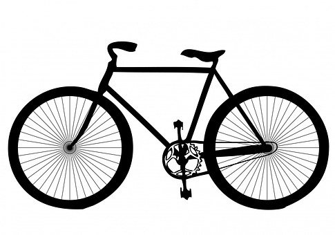 Black, Shape, Transport, Bicycle, Bike