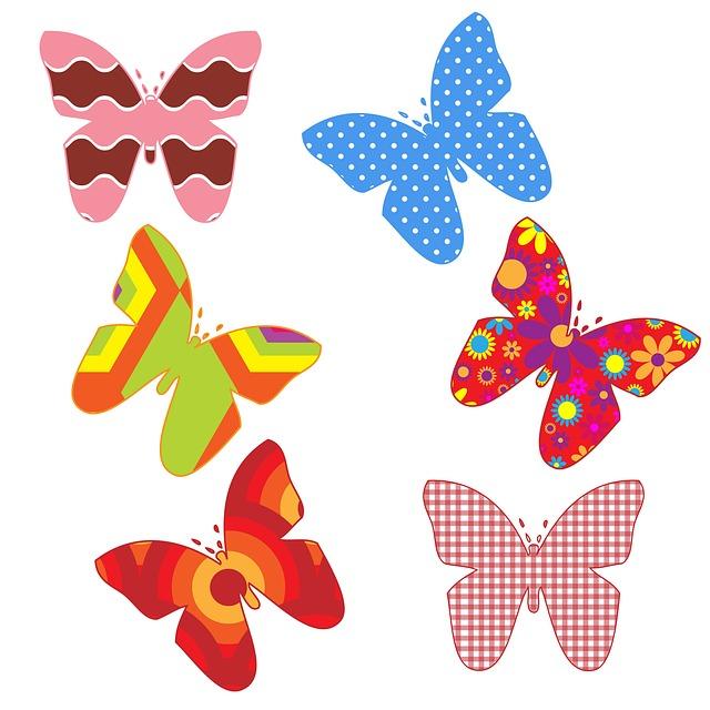 Бабочки картинки чтобы вырезать