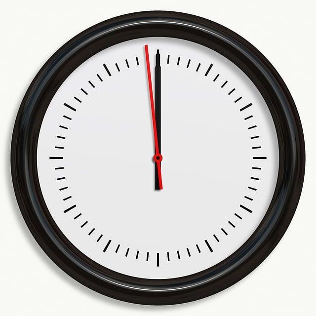 clock black wall 183 free image on pixabay