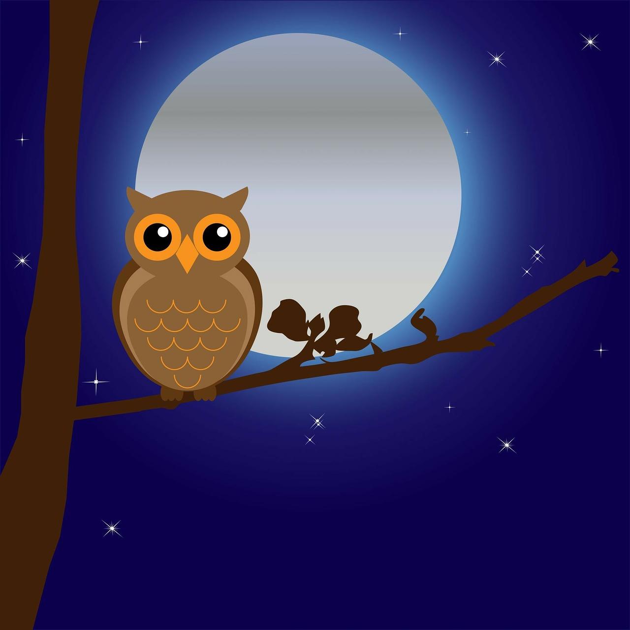 Картинки, доброй ночи полуночникам картинки