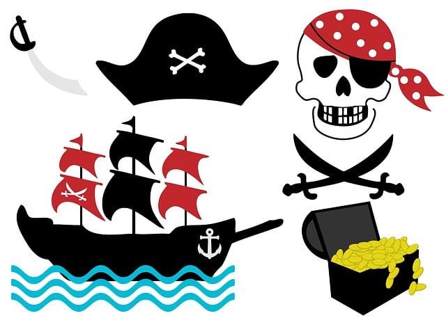 Пиратский значок своими руками