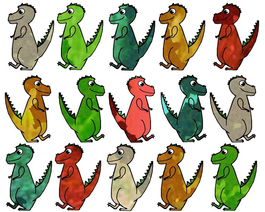 64+ Gambar Animasi Dinosaurus Bergerak Paling Hist
