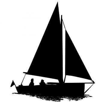 Segelboot zeichnung schwarz  Yacht, Sport - Kostenlose Bilder auf Pixabay