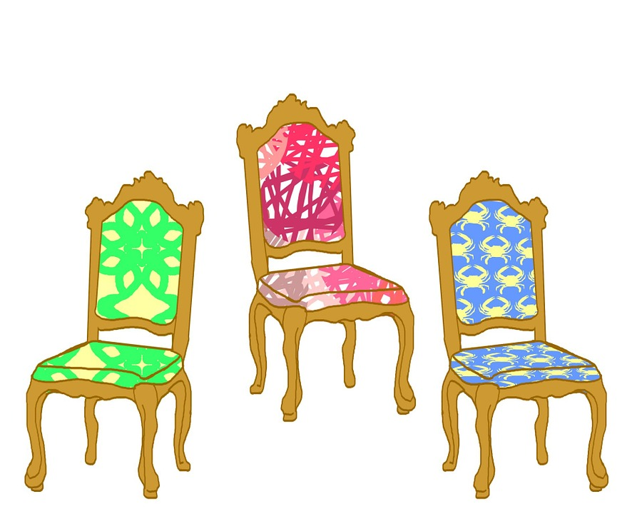 Upholstered Chair Armchair Fancy Furniture Pattern