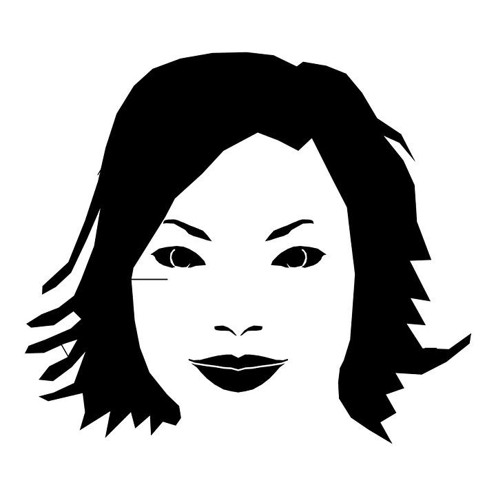 illustration gratuite visage dessin ligne femmes t te image gratuite sur pixabay 163664. Black Bedroom Furniture Sets. Home Design Ideas