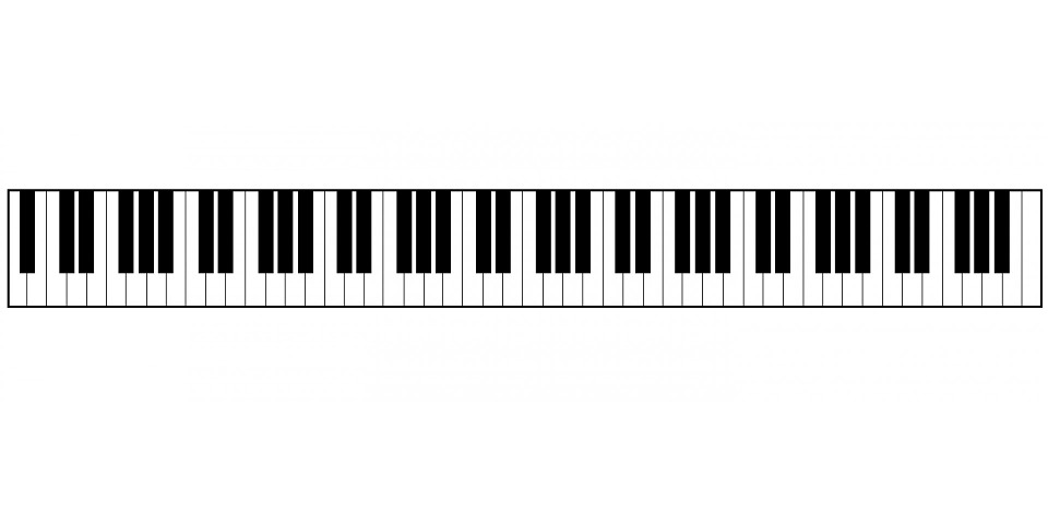 gratis illustratie piano  toetsenbord  piano klavier piano keyboard clip art transparent piano keyboard clipart images free