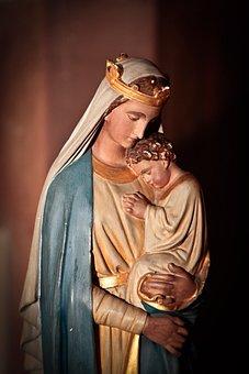 Virgin, Mary, Madonna, Jesus, Baby