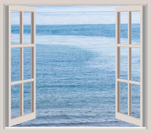 Open Window At Dusk: Free Photo: Ocean, Sea, Water, Blue, View