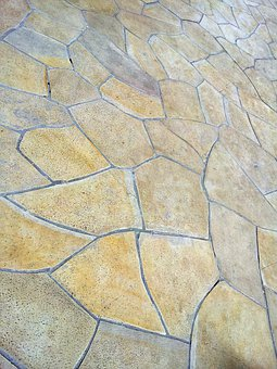 Stones, Ground, Texture, Construction