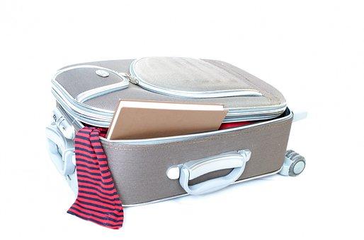 Travel Traveler Pack Open Book Object Retr