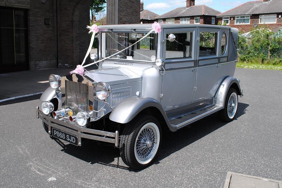 Wedding Car Vintage · Free photo on Pixabay