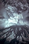 volcanic eruption, eruption
