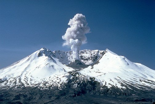 Mount St Helens, Volcanic Eruption