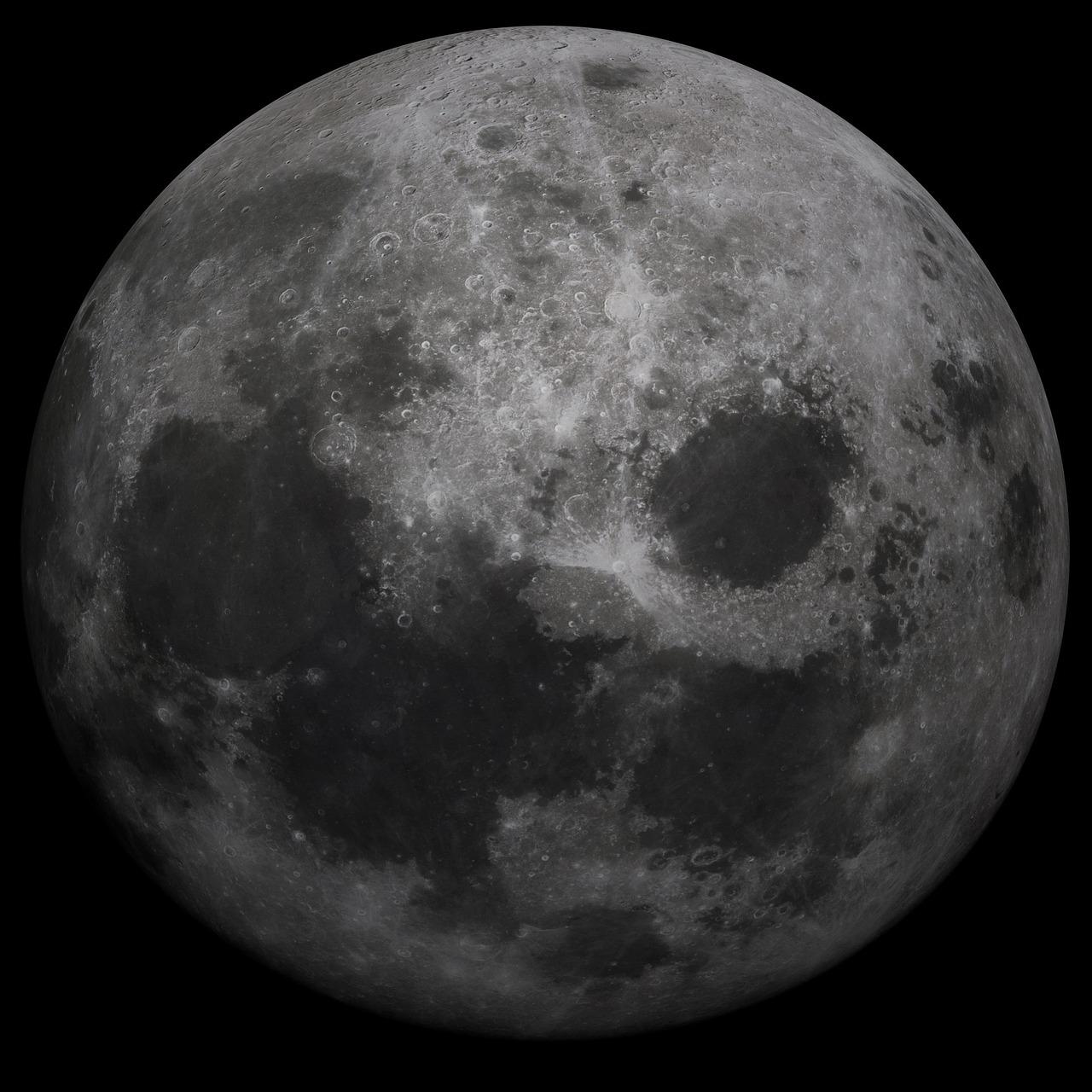 Фото луны из космоса высокого разрешения