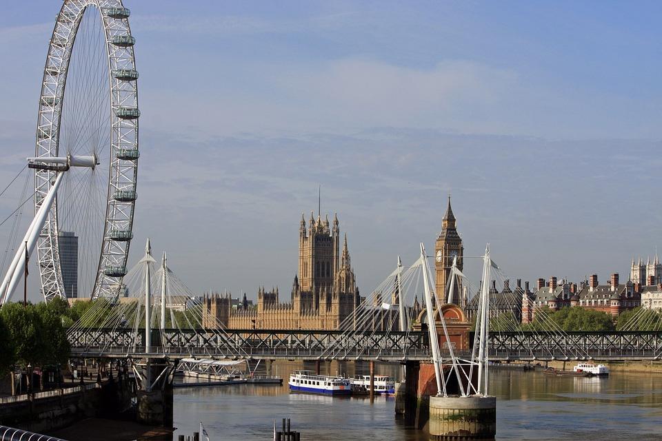 London England Millennium Wheel Kostenloses Foto Auf Pixabay