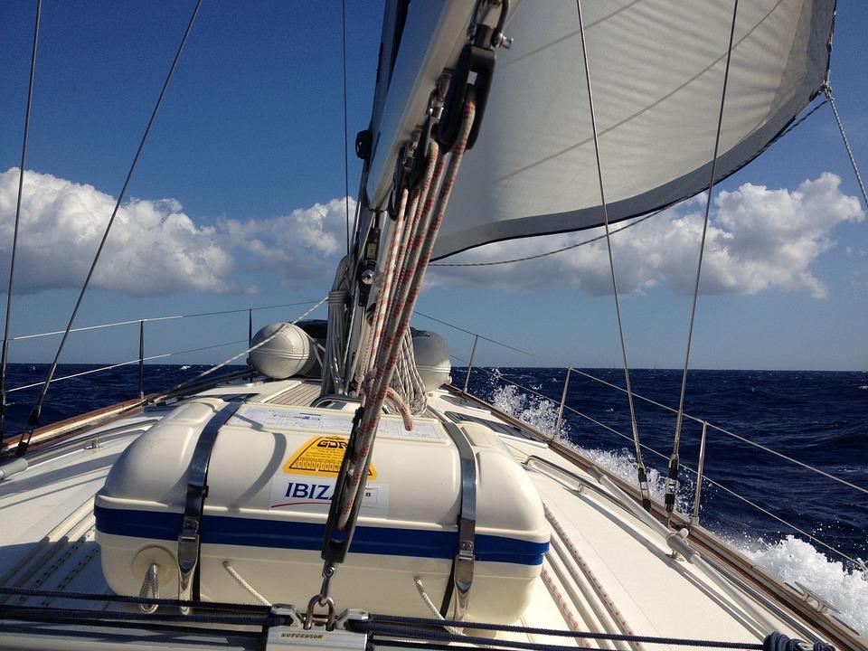 Sailing Boat, Sail, Sailing, Sport, Water, Sea, Summer